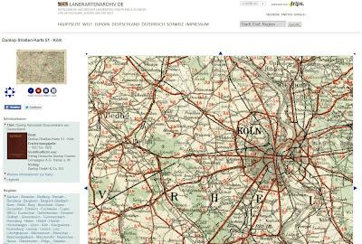 Read more about the article Das Landkartenarchiv wurde aktualisiert und beinhaltet jetzt über 800 historische Landkarten