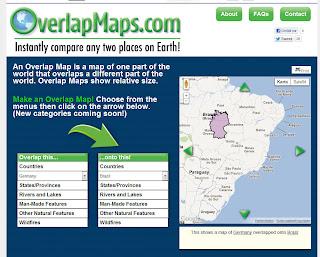 Read more about the article Mit OverlapMaps können Sie Länder, Bundesländer und Provinzen zueinander vergleichen