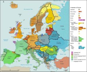 Read more about the article Aktuelle Sprachenkarte von Europa