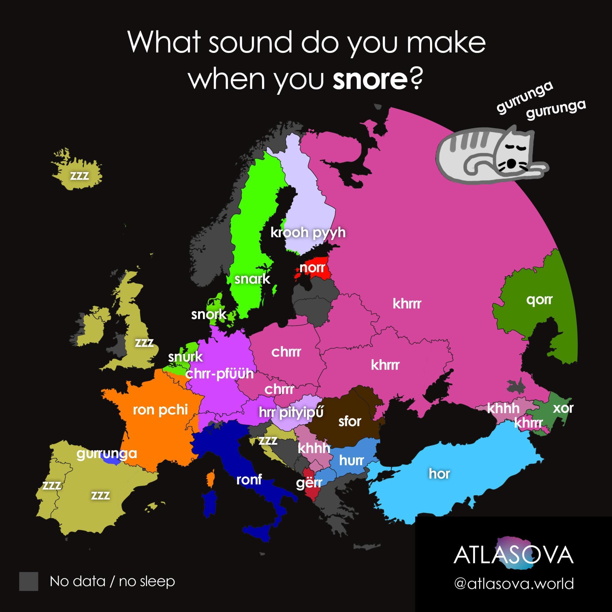 Read more about the article Europakarte zeigt wie in einem Land die Katze schnurrt